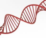 3d red DNA concept Stock Photos
