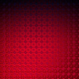 3d Red geometric tiles Royalty Free Stock Images
