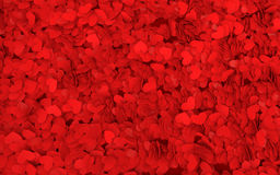 3d red hearts background Stock Images