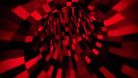 3D Red Sci-Fi Arificial Intelligence Tunnel - VJ Loop Motion Background V2. Cyber 3D Red Sci-Fi Arificial Intelligence Tunnel - VJ Loop Motion Background stock video