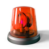 3d red siren Royalty Free Stock Photos