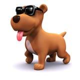 3d refrigeram o cão ilustração do vetor