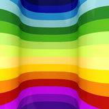 3d regenboogachtergrond Royalty-vrije Stock Foto's