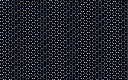 3D Regular Hexagonal Pattern (Graphene) Stock Photos