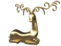 3d Reindeer 6 Royalty Free Stock Images