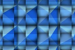 3d relief with powerful and bluie shadows Royalty Free Stock Photo