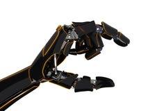 3D rendant la main robotique illustration de vecteur