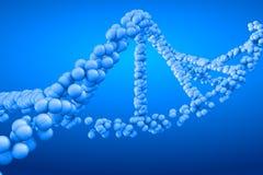 3d rendant la molécule d'ADN Photographie stock