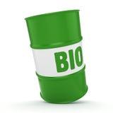 3D rendant le baril de combustibles organiques Photo libre de droits