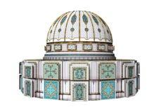 3D rendant le palais d'Oriental de conte de fées illustration stock