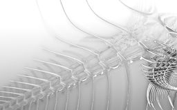 3D rendant un animal sous-marin incroyable Images libres de droits