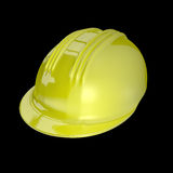 3d rendem de um capacete de segurança Fotos de Stock Royalty Free