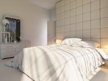 3d rendem de um design de interiores de um quarto Imagens de Stock