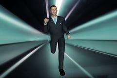 3d rendem o homem de negócio Imagens de Stock Royalty Free