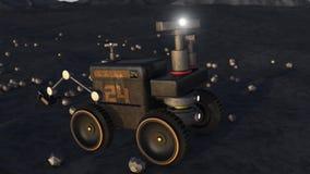 3d rendent Bateau d'exploration illustration de vecteur
