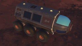 3d rendent Bateau d'exploration illustration libre de droits