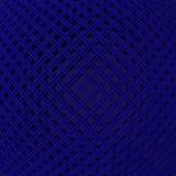 3d rendent, 3d rendent, soustraient le fond géométrique se composant intersectant de doubles lignes Image libre de droits