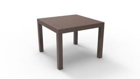 Tableau latéral en bois Images libres de droits