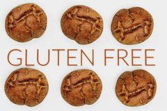 3D rendent de la nourriture gratuite de gluten Photo stock