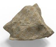 3d rendent de la pierre de roche Photographie stock
