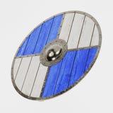 3d rendent de Viking Shield illustration de vecteur
