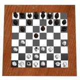 3d rendent des échecs illustration de vecteur