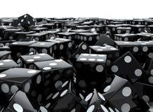 Pile noire de matrices illustration libre de droits