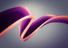 3D render abstract background. Colorful twisted shapes in motion. Computer generated digital art. 3D render abstract background. Colorful twisted shapes in Stock Photos