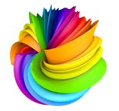 Abstract colorful pantone background Royalty Free Stock Photography