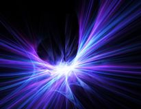 3D abstract fractal background. 3D render of an abstract fractal background in shades of purple and pink Royalty Free Stock Photo