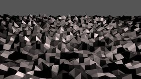 3d render of abstract geometric background with modern gradient colors in low poly style. 3d black surface 13. 3d render of abstract geometric background with vector illustration