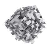 Abstract cube background Royalty Free Stock Images