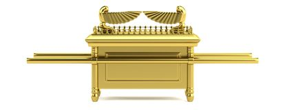 3d render of ark of the covenant Stock Photo