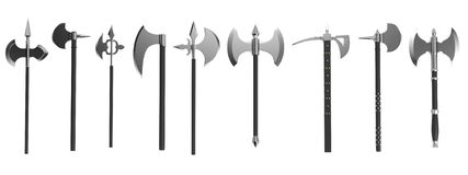 3d render of axes royalty free illustration