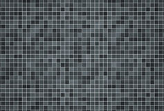 3d render background of swimming pool tiles Stock Photography