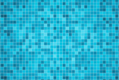 3d render background of swimming pool tiles Stock Photos