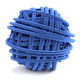 3d render of ball of wool Stock Photos