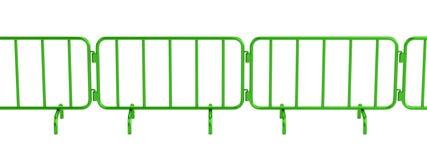 3d render of barrier Stock Image