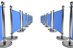 3d render of barrier Royalty Free Stock Image