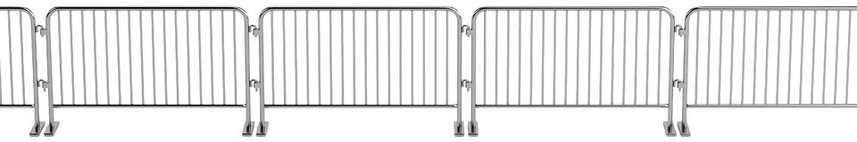 3d render of barrier Stock Photo