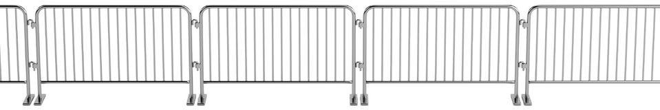 3d render of barrier Stock Photo