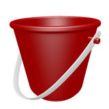 3d Render of a Beach Pail Stock Photo