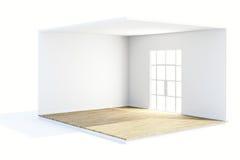 3d render of beautiful clean room. Design concept Stock Image