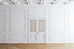 3d render of beautiful vintage interior. 3d render of beautiful clean vintage interior stock illustration