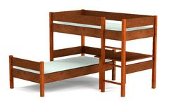 3d render of bed. Realistic 3d render of bed Stock Photos