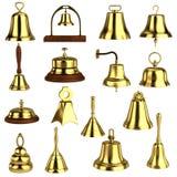 3d render of bells Stock Image