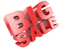 3D render of Big Sale Word Stock Photo