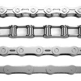 3d render of bike chains Royalty Free Stock Photos