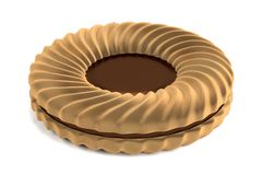 3d render of biscuit Royalty Free Stock Images