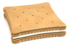 3d render of biscuit Royalty Free Stock Image